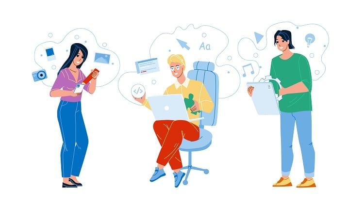 People choosing the best blogging platforms
